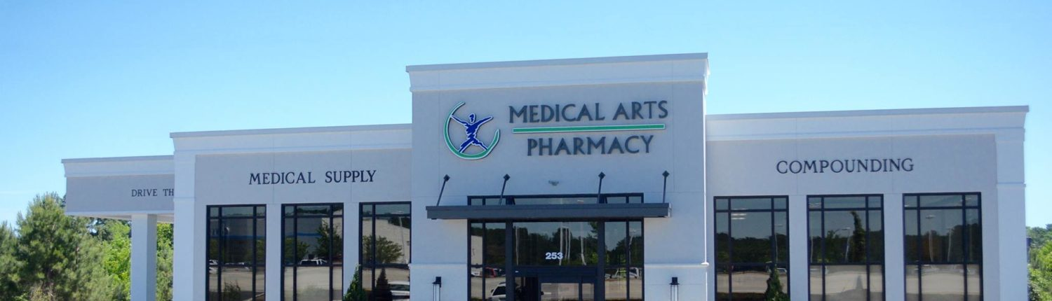 Medical Arts Pharmacy will be CLOSED on Saturday, 28th
