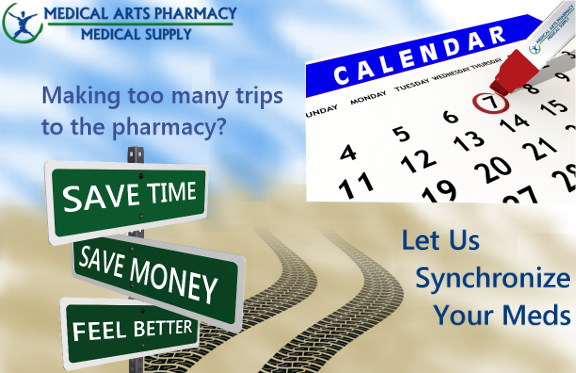Making too many trips to the pharmacy?