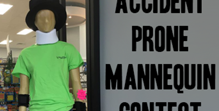 Accident Prone Mannequin Contest